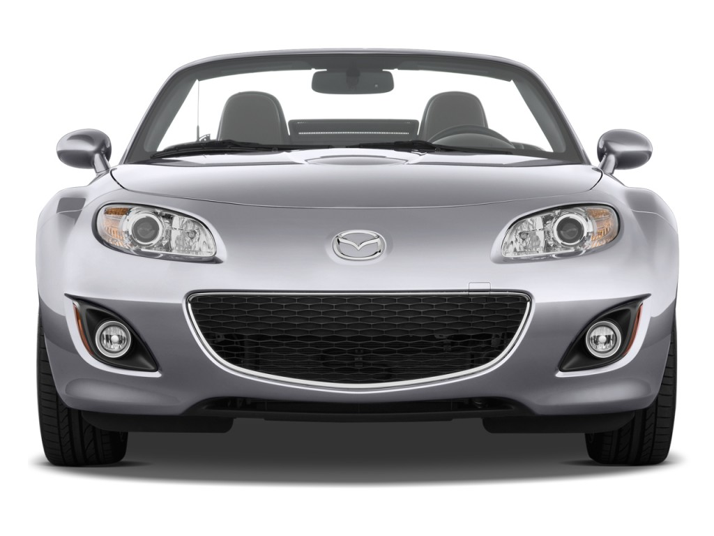 image 2009 mazda mx 5 miata 2 door convertible prht man grand touring front exterior view size. Black Bedroom Furniture Sets. Home Design Ideas