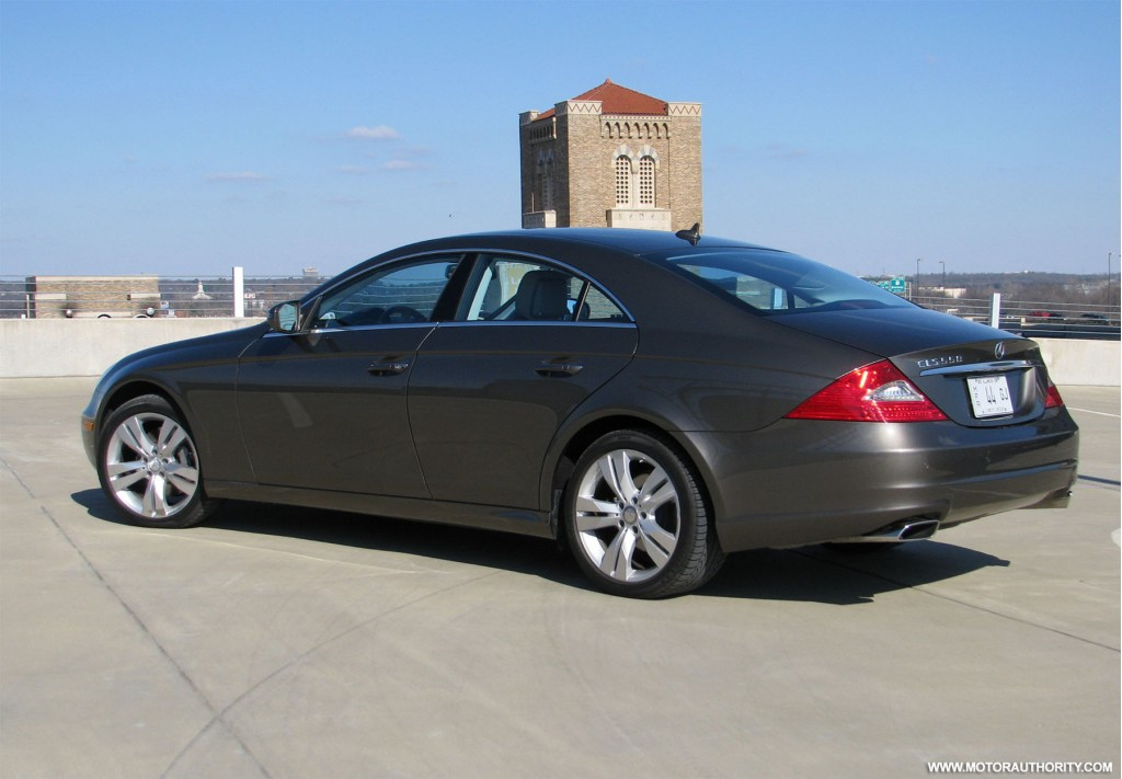 image 2009 mercedes benz cls 550 review 001 size 1024 x 711 type gif posted on february 6. Black Bedroom Furniture Sets. Home Design Ideas