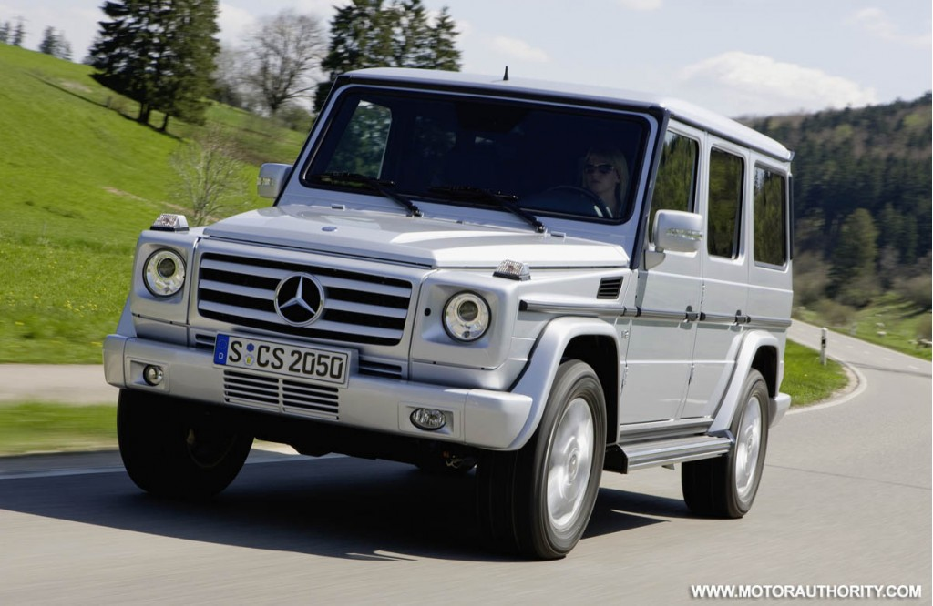 Update mercedes adds g55 amg to facelifted g class range for New mercedes benz g wagon