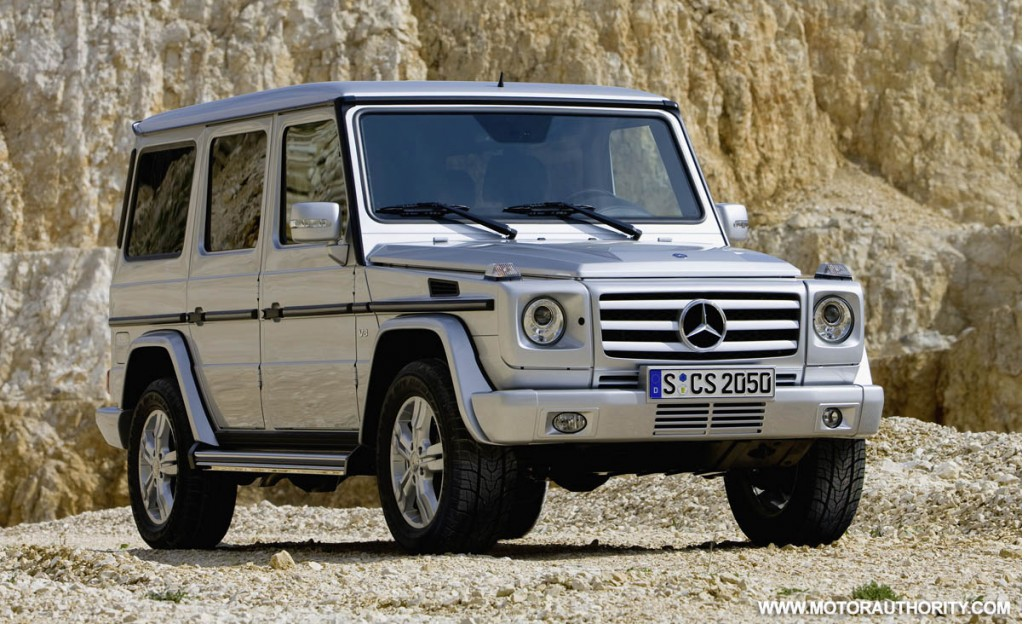 Update mercedes adds g55 amg to facelifted g class range for 2009 mercedes benz g class