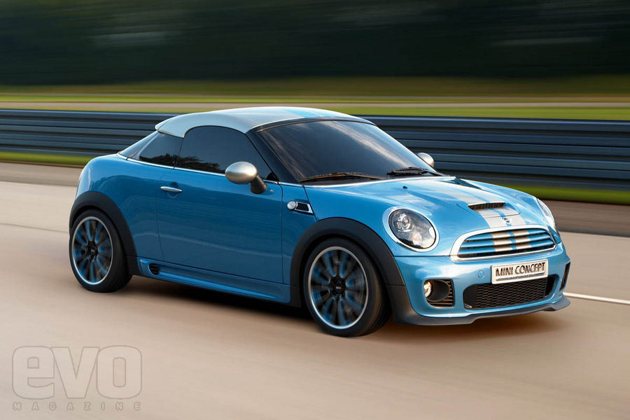 As Many Find The Roof On 2009 Mini Coupe Concept Bottom A Bit Iffy I Just Decided To Get Rid Of It Altogether