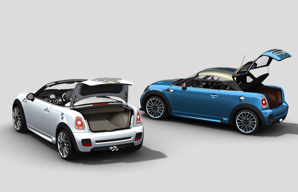 2009 mini roadster concept revealed at frankfurt auto show. Black Bedroom Furniture Sets. Home Design Ideas