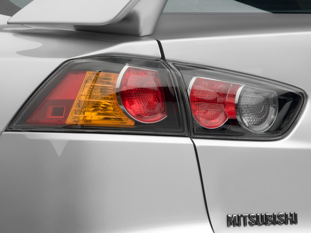 Image 2009 Mitsubishi Lancer 4 Door Sedan Tc Sst Ralliart Tail Light Size 1024 X 768 Type
