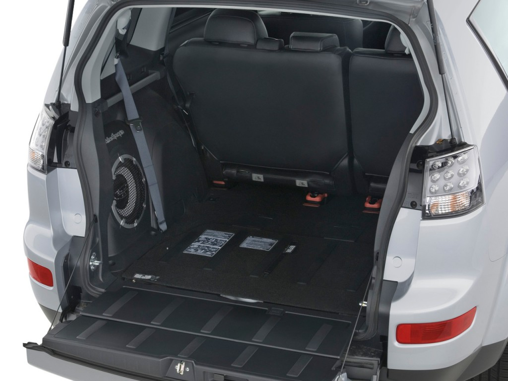 Image 2009 Mitsubishi Outlander 2wd 4 Door Se Trunk Size 1024 X 768 Type Gif Posted On