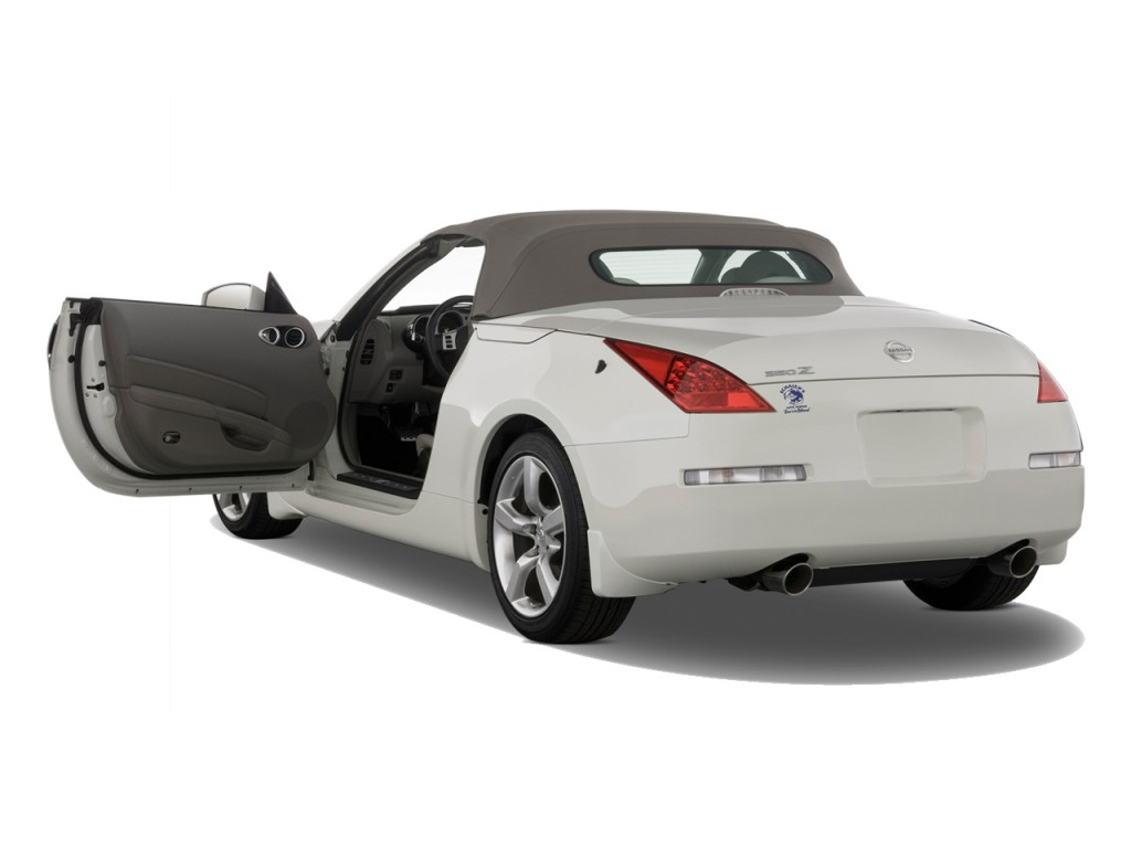 Image 2009 nissan 350z 2 door roadster auto touring open for Door 2 door cars