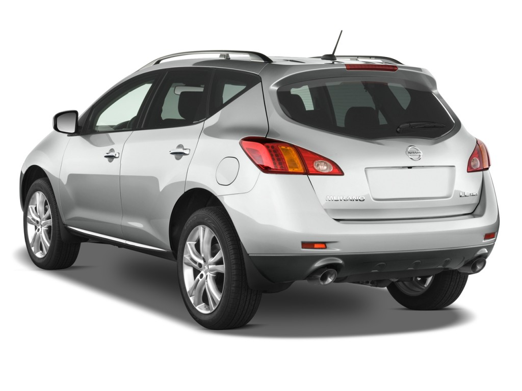 image 2009 nissan murano awd 4 door le angular rear exterior view size 1024 x 768 type gif. Black Bedroom Furniture Sets. Home Design Ideas