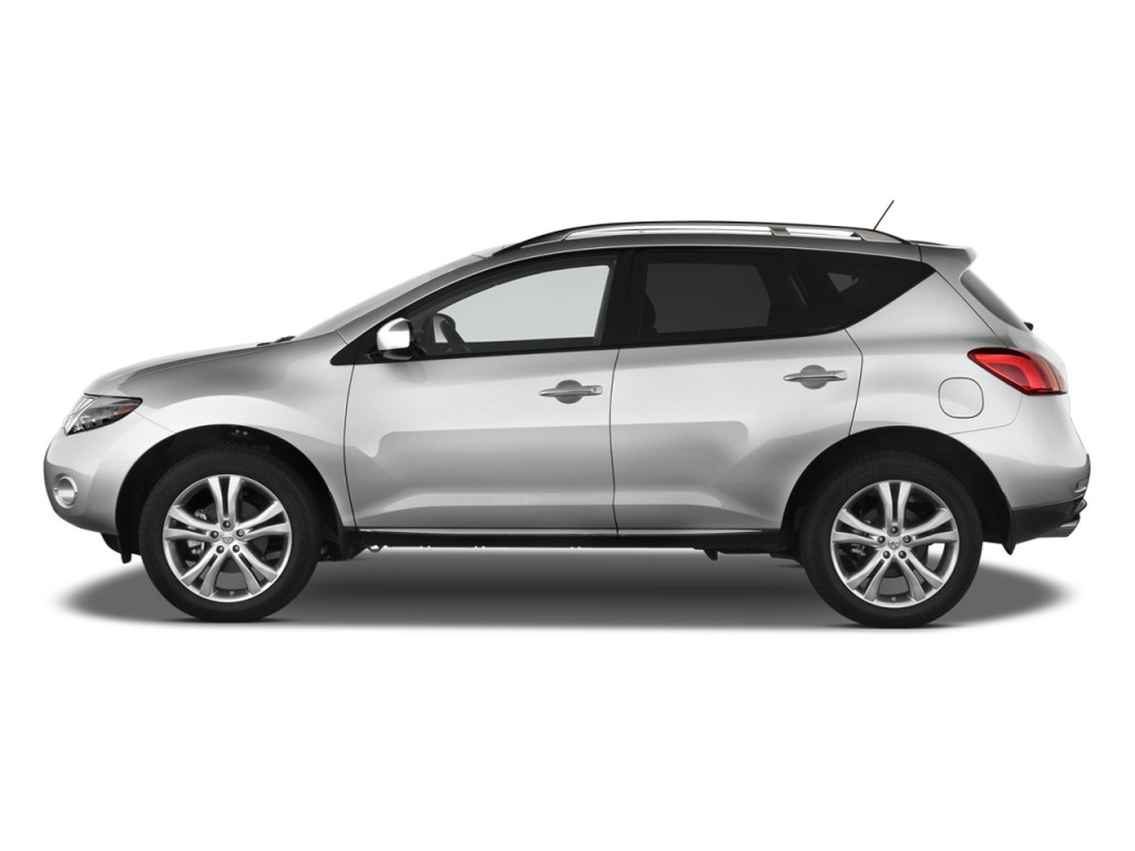 image 2009 nissan murano awd 4 door le side exterior view size 1024 x 768 type gif posted. Black Bedroom Furniture Sets. Home Design Ideas