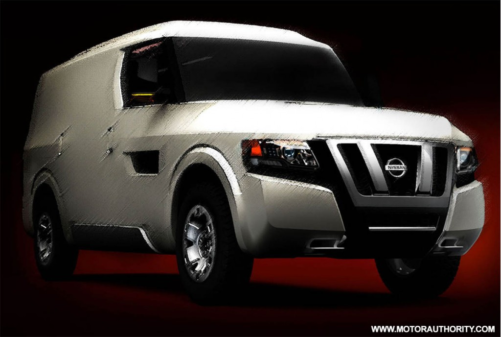 Image 2009 Nissan Nv250 Concept 001 Size 1024 X 688 Type Gif Posted On November 10 2008