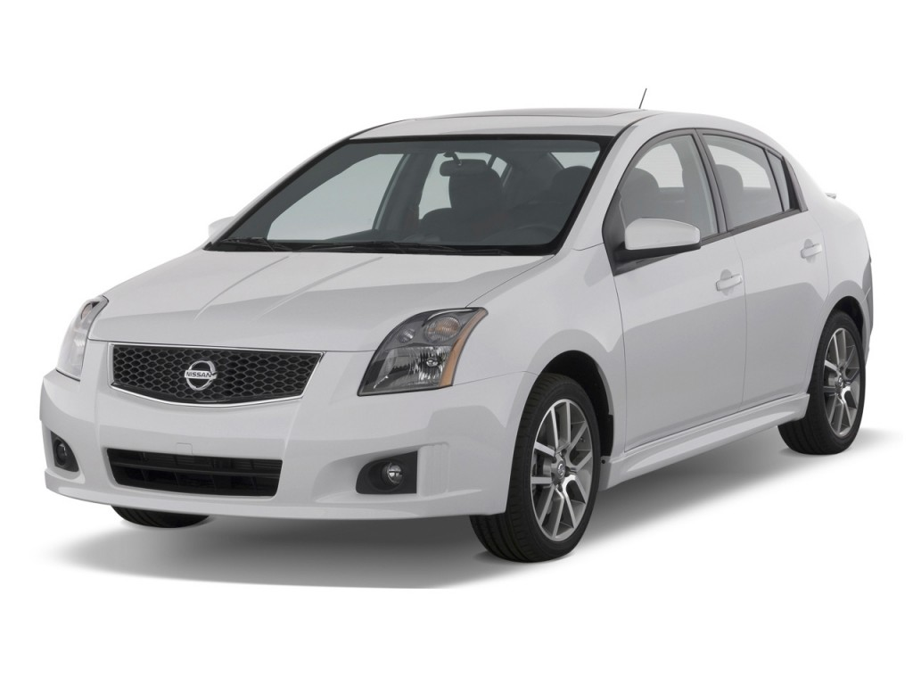 image 2009 nissan sentra 4 door sedan man se r spec v. Black Bedroom Furniture Sets. Home Design Ideas
