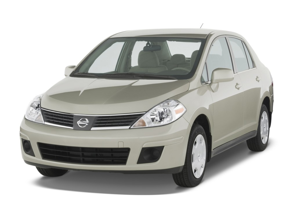 2009 Nissan Versa 4 Door Sedan Auto S Angular Front Exterior View ...