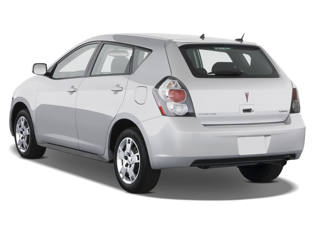 2009 Pontiac Vibe Pictures Photos Gallery Green Car Reports