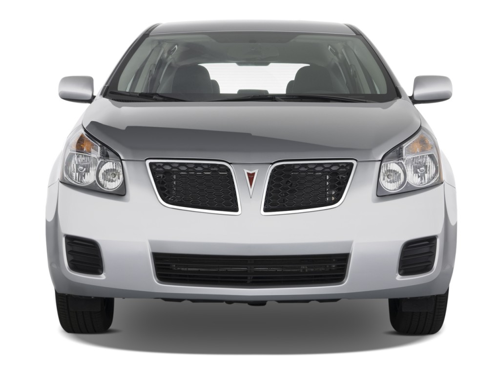 image 2009 pontiac vibe 4 door hb fwd w 1sa front. Black Bedroom Furniture Sets. Home Design Ideas