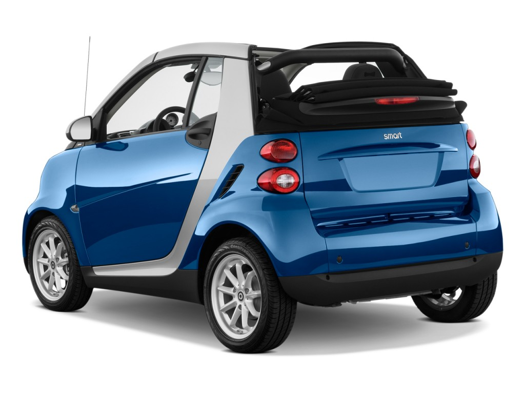 image 2009 smart fortwo 2 door cabriolet passion angular rear exterior view size 1024 x 768. Black Bedroom Furniture Sets. Home Design Ideas