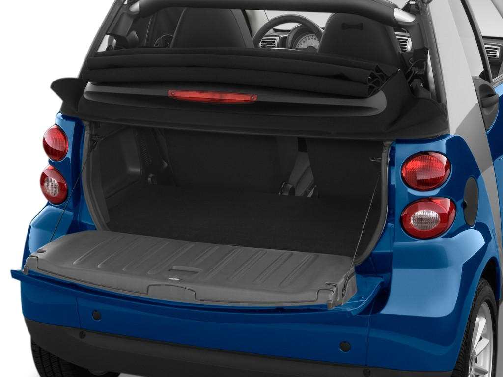 Image 2009 Smart Fortwo 2 Door Cabriolet Passion Trunk