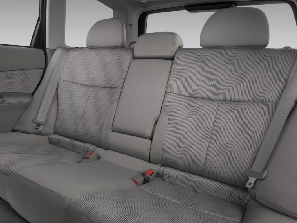 image 2009 subaru forester 4 door man x rear seats size 1024 x 768 type gif posted on. Black Bedroom Furniture Sets. Home Design Ideas