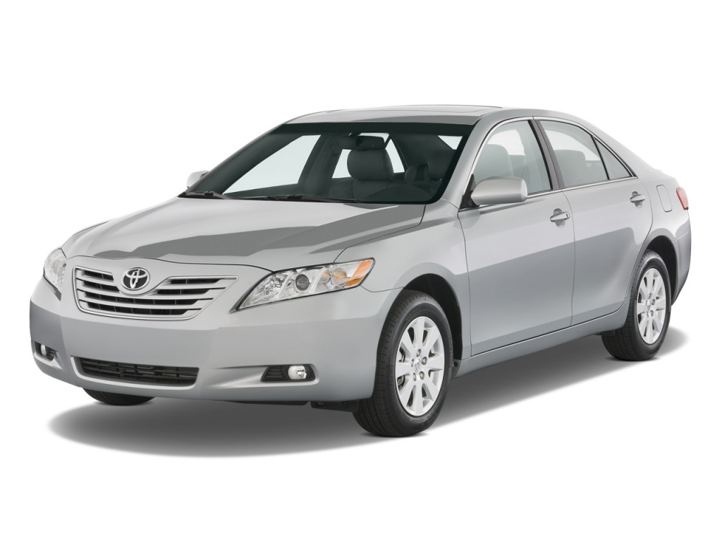 image 2009 toyota camry 4 door sedan v6 auto xle natl angular front exterior view size 1024. Black Bedroom Furniture Sets. Home Design Ideas
