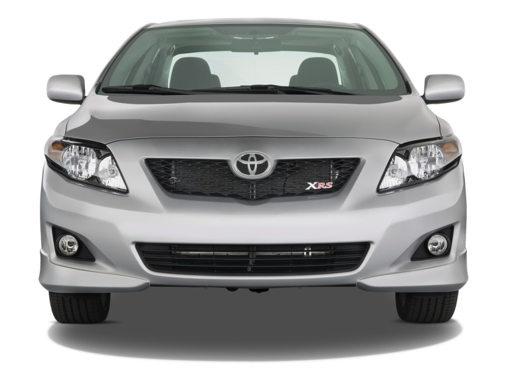 Image: 2009 Toyota Corolla 4-door Sedan Auto XRS (Natl ...