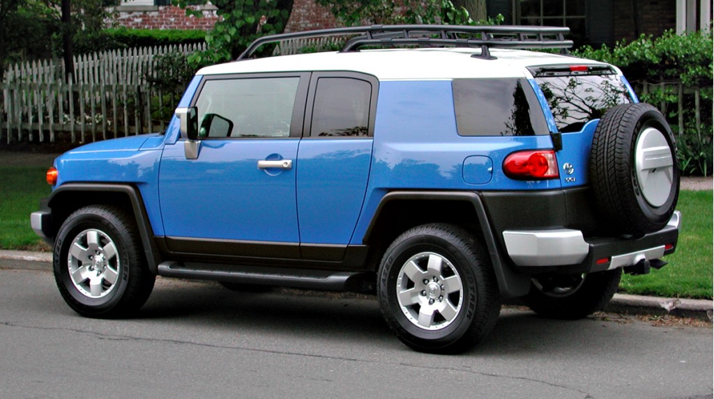 2010 Toyota Fj Cruiser Pictures Photos Gallery