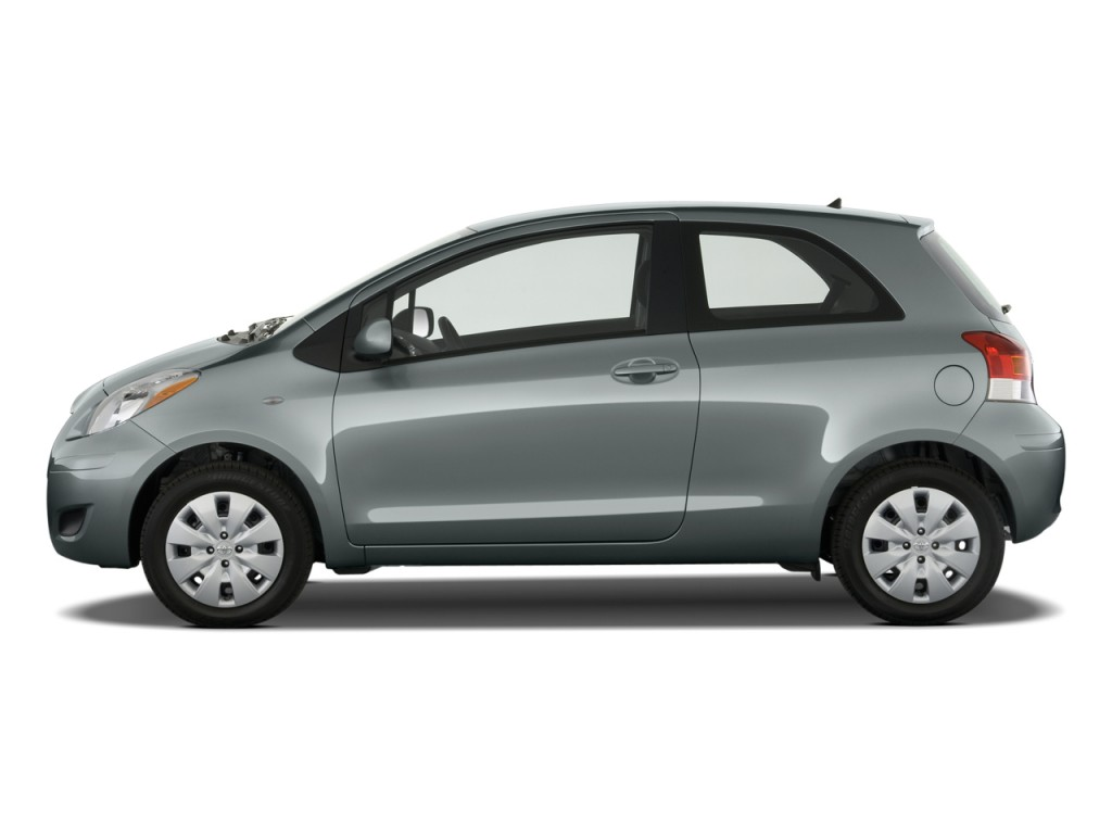 image 2009 toyota yaris 3dr hb auto natl side exterior. Black Bedroom Furniture Sets. Home Design Ideas