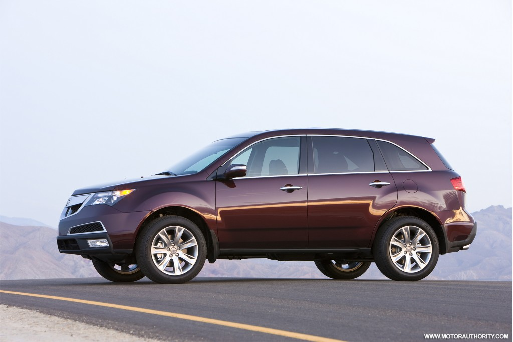 Acura Mdx Towing Capacity >> Acura's MDX SUV gets a new look and powertrain for 2010