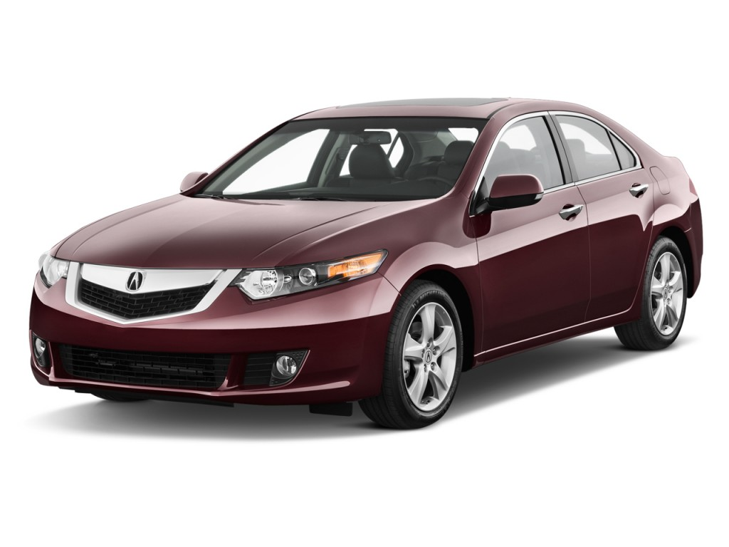 image 2010 acura tsx 4 door sedan i4 auto angular front. Black Bedroom Furniture Sets. Home Design Ideas