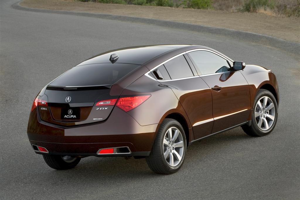 2010 Acura Zdx Makes Official Production Debut At Orange