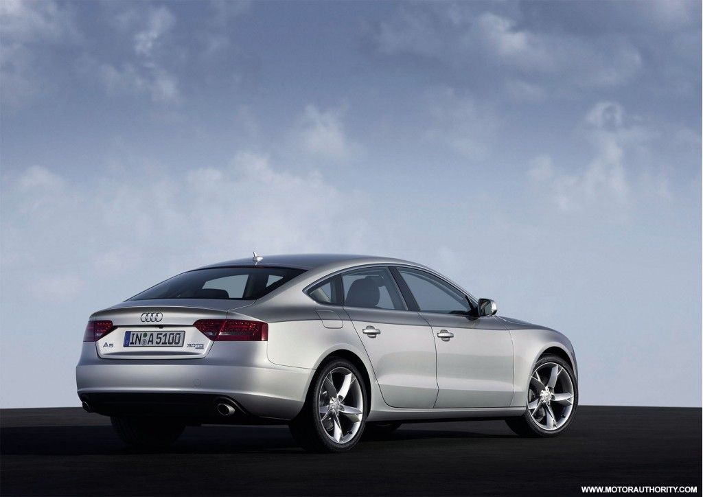 audi releases more images for 2010 a5 sportback. Black Bedroom Furniture Sets. Home Design Ideas