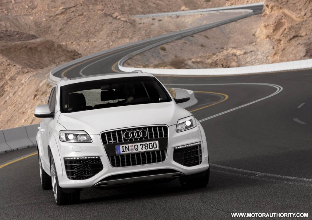 report audi will not sell the q7 v12 tdi in u s. Black Bedroom Furniture Sets. Home Design Ideas