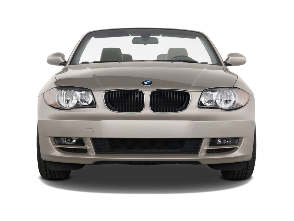 image 2010 bmw 1 series 2 door convertible 128i front. Black Bedroom Furniture Sets. Home Design Ideas