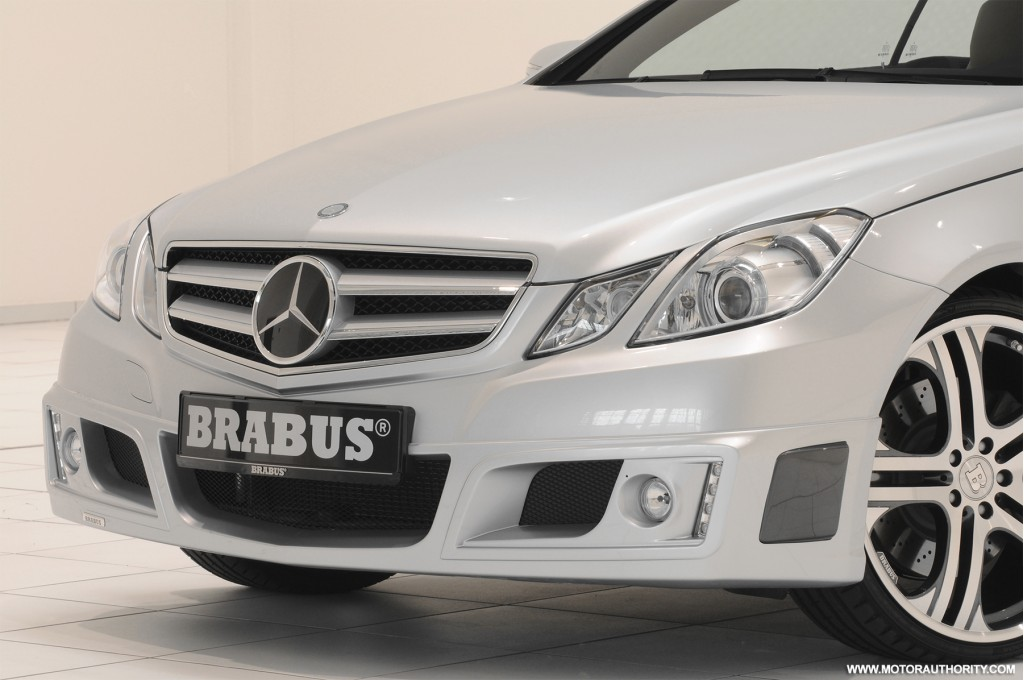 brabus tuned mercedes e class coupe bangs out 456hp. Black Bedroom Furniture Sets. Home Design Ideas