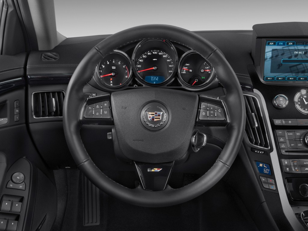Cadillac Cts V Door Sedan Steering Wheel L
