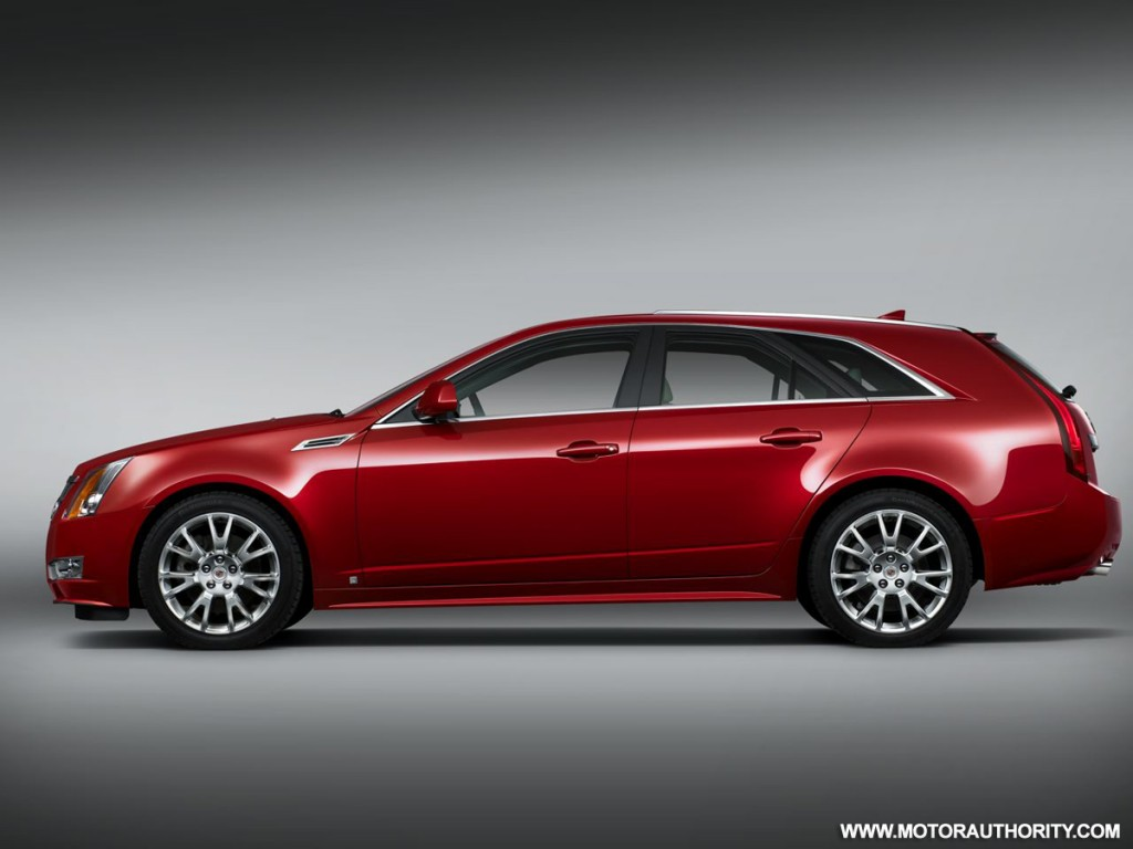 cadillac reveals 2010 cts 39 sport wagon 39 at pebble beach concours d elegance confirms diesel option. Black Bedroom Furniture Sets. Home Design Ideas