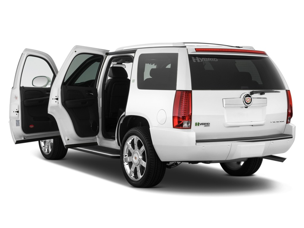 2010 cadillac escalade hybrid pictures photos gallery for Door 2 door cars