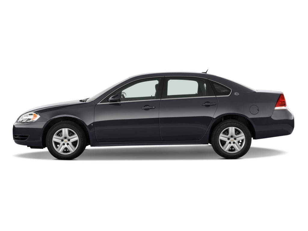 2010 chevrolet impala 4 door sedan ls side exterior view. Black Bedroom Furniture Sets. Home Design Ideas