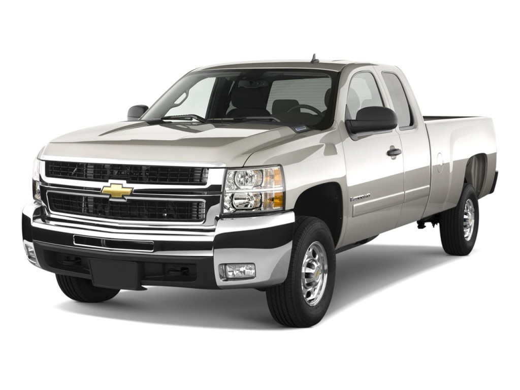 image 2010 chevrolet silverado 2500hd 2wd ext cab 157 5 lt angular front exterior view size. Black Bedroom Furniture Sets. Home Design Ideas