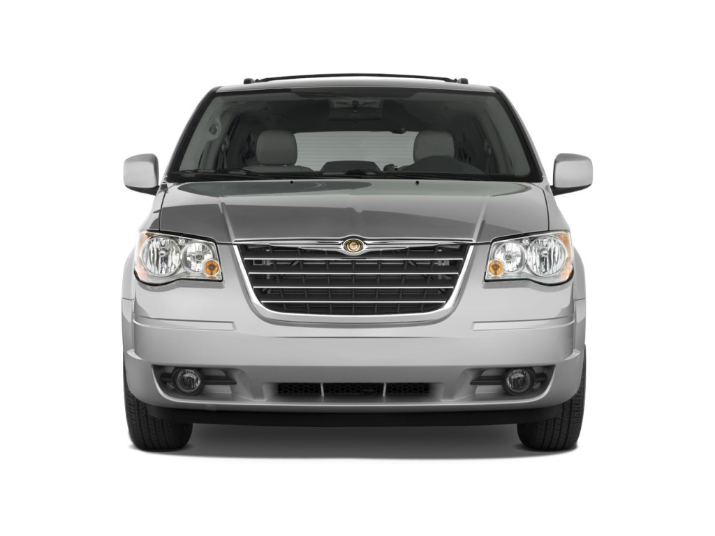 2010 chrysler town country 4 door wagon touring front exterior view. Cars Review. Best American Auto & Cars Review