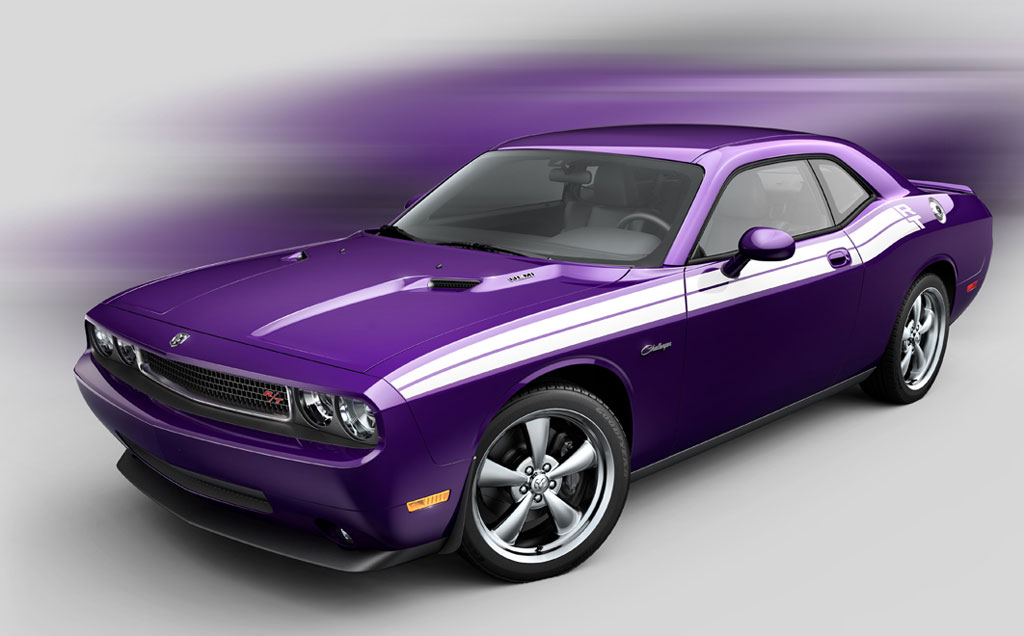 dodge fan club 2010 dodge challenger srt8 now available in purple. Black Bedroom Furniture Sets. Home Design Ideas