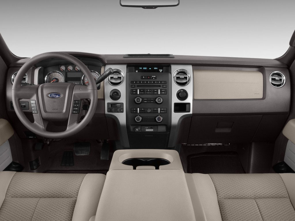 Image 2010 Ford F 150 2wd Supercrew 145 Xlt Dashboard Size 1024 X 768 Type Gif Posted On