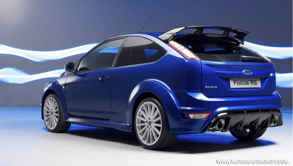 full specs for production ford focus rs revealed. Black Bedroom Furniture Sets. Home Design Ideas