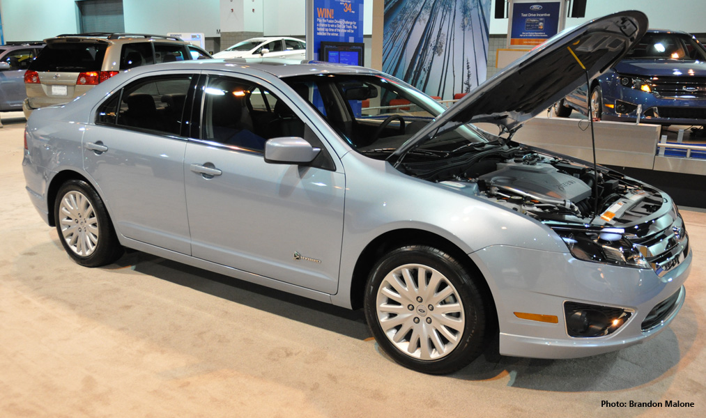 2010 Ford Fusion Hybrid at 2009 Denver Auto Show