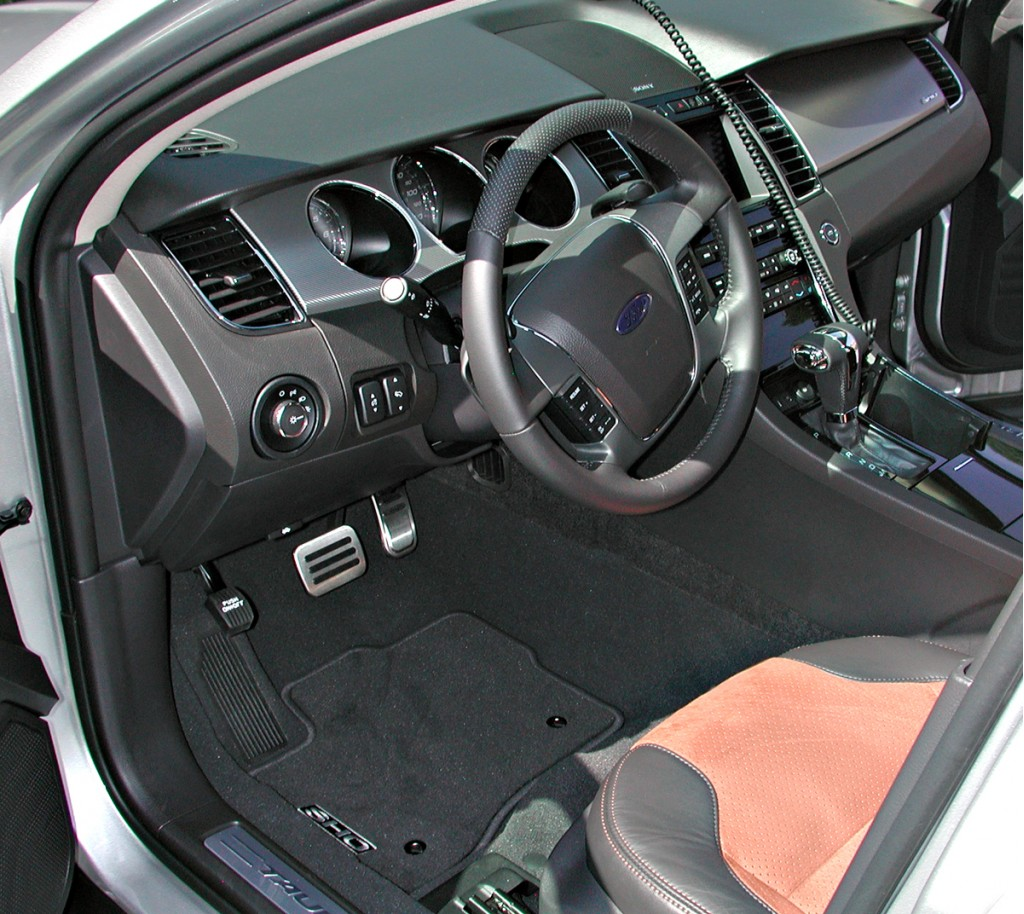 2010 Ford Transit Connect Cargo Van For Sale In Houston: Image: 2010 Ford Taurus SHO Interior, Size: 1024 X 914
