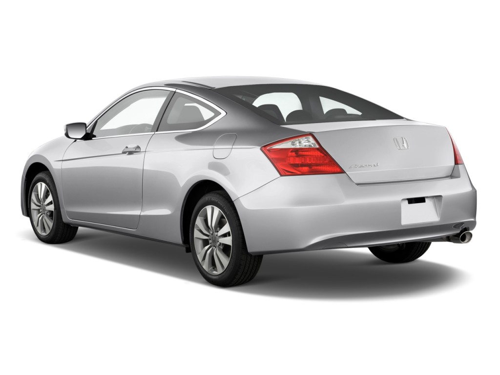 2010 honda accord coupe 2 door i4 auto lx s angular rear exterior view. Black Bedroom Furniture Sets. Home Design Ideas