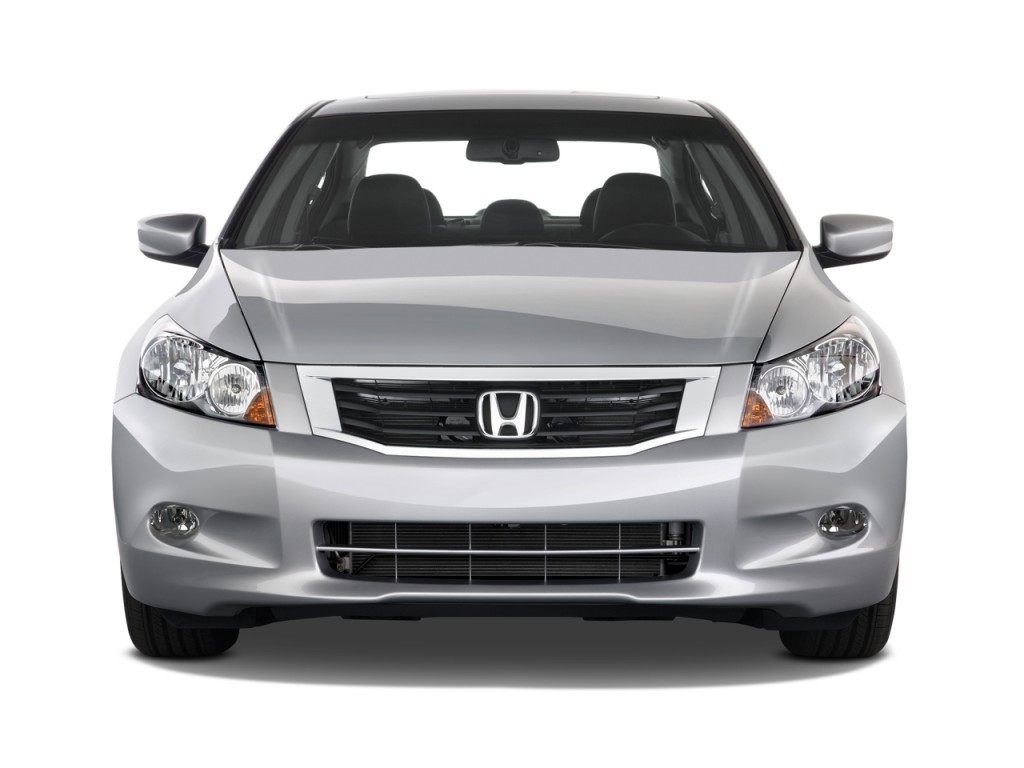 image 2010 honda accord sedan 4 door v6 auto ex l front. Black Bedroom Furniture Sets. Home Design Ideas
