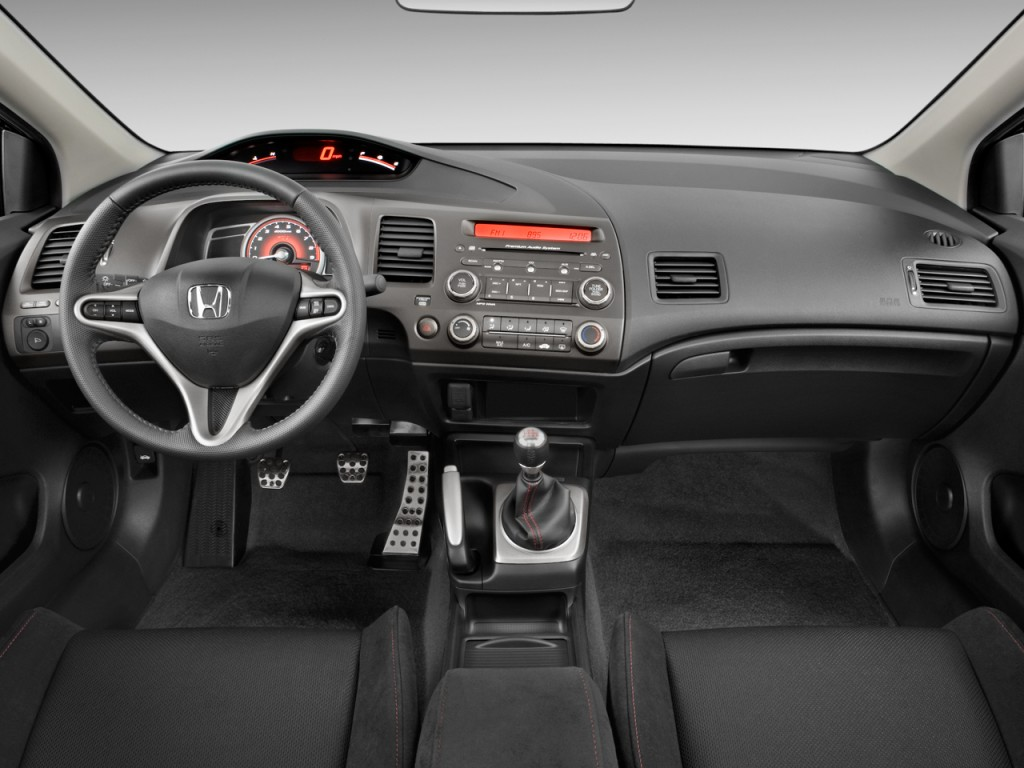 image 2010 honda civic coupe 2 door man si dashboard size 1024 x 768 type gif posted on. Black Bedroom Furniture Sets. Home Design Ideas