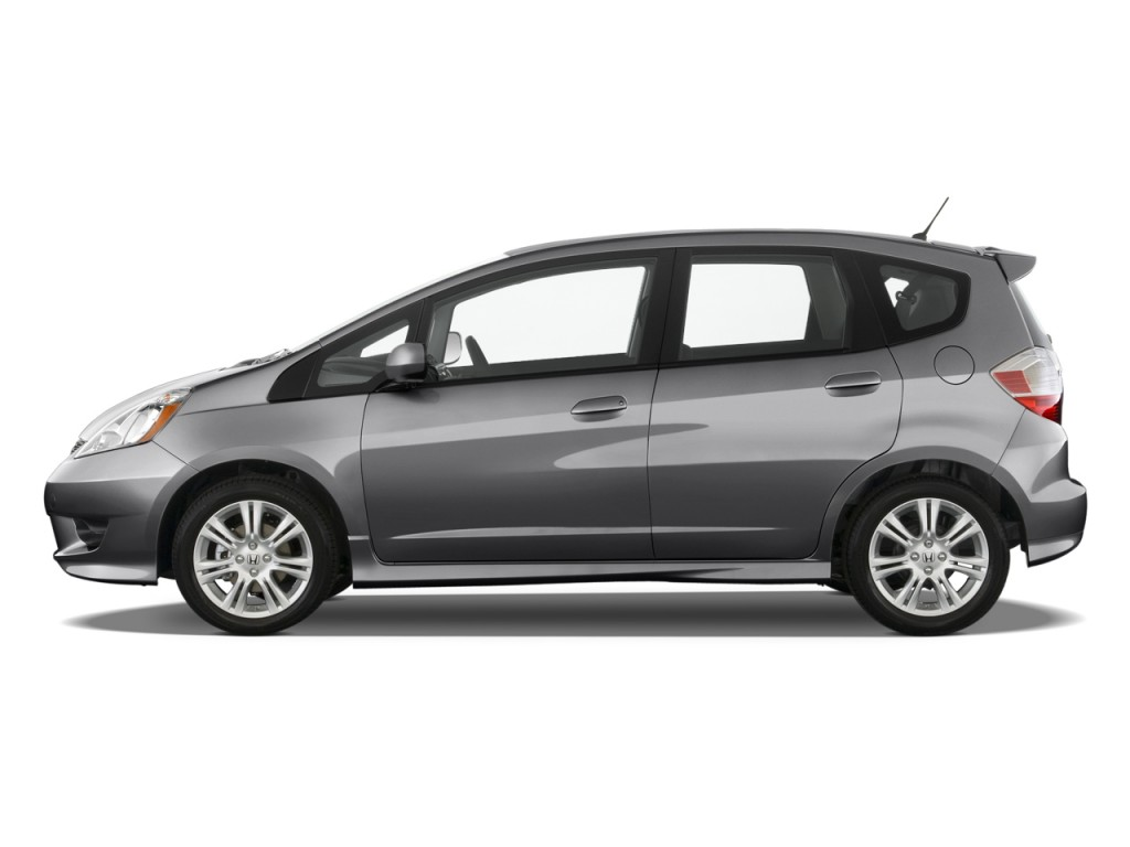 Image 2010 Honda Fit 5dr Hb Auto Sport W Vsa Amp Navi Side