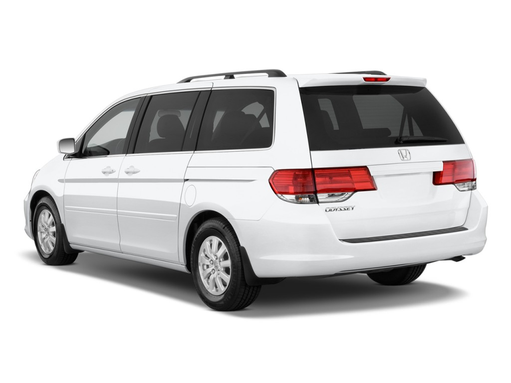 Image 2010 Honda Odyssey 5dr Ex Angular Rear Exterior View Size 1024 X 768 Type Gif Posted