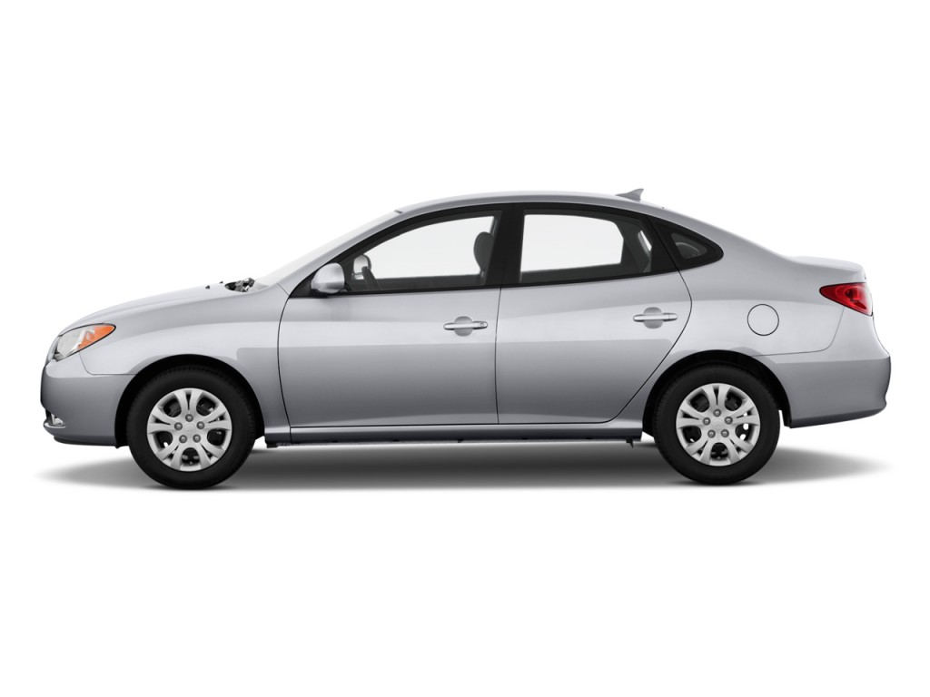 2010 Hyundai Elantra 4 Door Sedan Auto Gls Pzev Side Exterior View ...