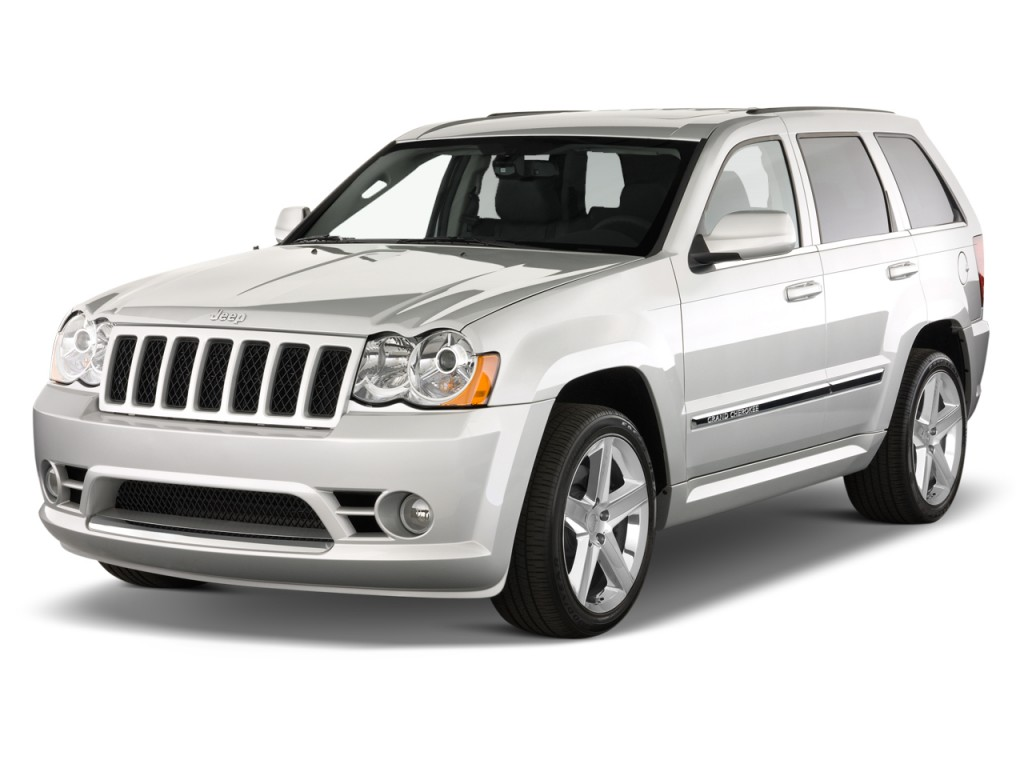 2010 jeep grand cherokee 4wd 4 door srt 8 angular front exterior view. Cars Review. Best American Auto & Cars Review