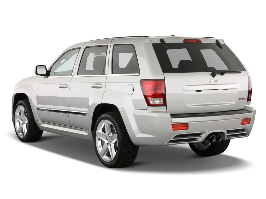 2010 jeep grand cherokee 4wd 4 door srt 8 angular rear exterior view. Cars Review. Best American Auto & Cars Review