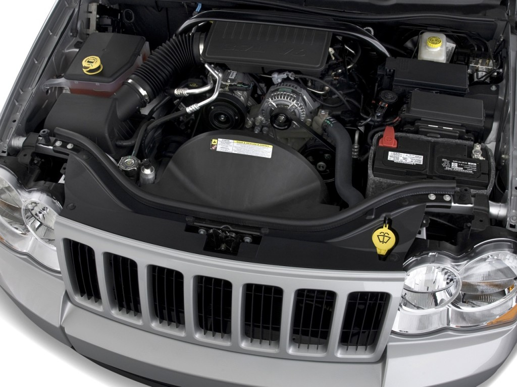 Image: 2010 Jeep Grand Cherokee RWD 4-door Laredo Engine ...